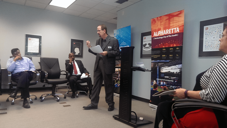 Speaking at the ATDC Alpharetta Startup Circle